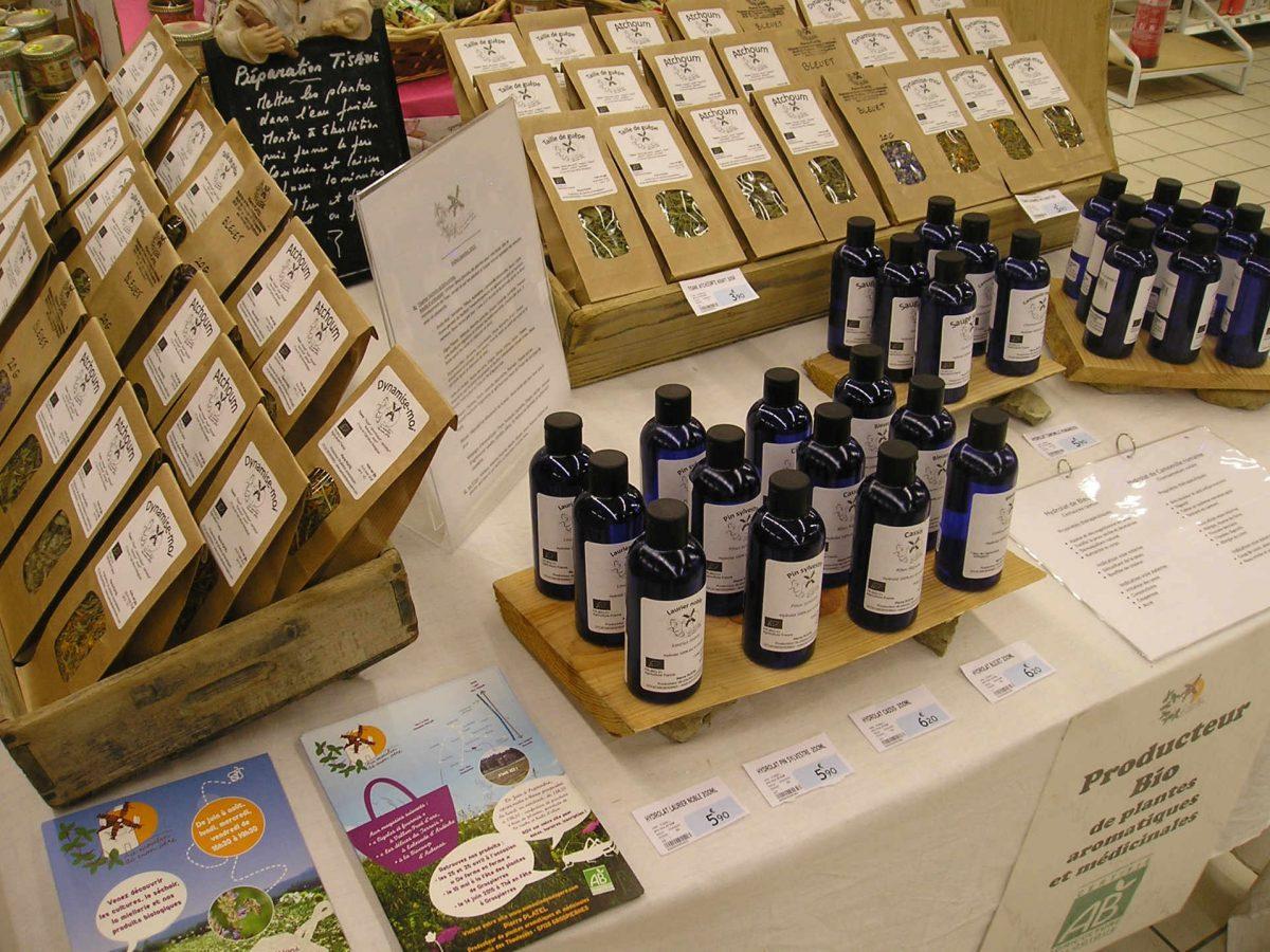 Plantes aromatiques et médicinales : La vente en circuit court.